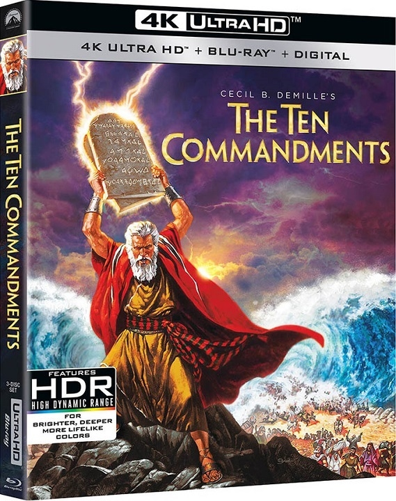 The Ten Commandments in 4K Ultra HD Blu-ray at HD MOVIE SOURCE