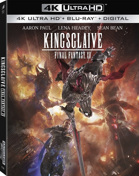 Kingsglaive: Final Fantasy XV in 4K Ultra HD Blu-ray at HD MOVIE SOURCE