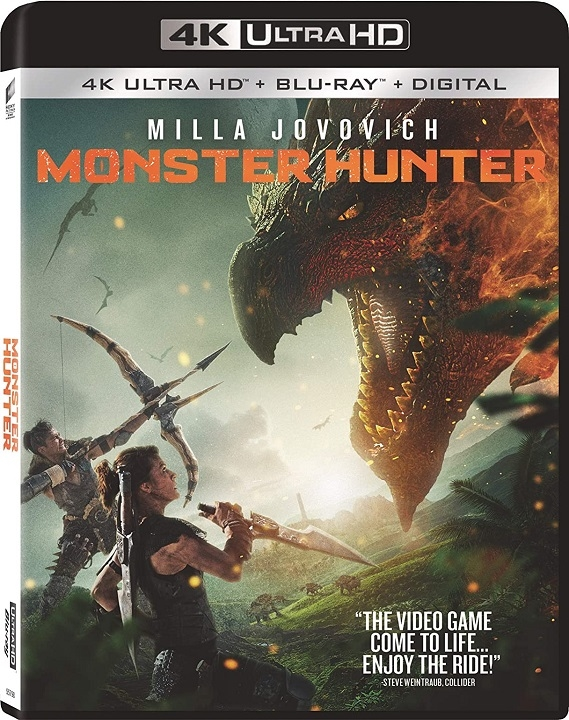 Monster Hunter in 4K Ultra HD Blu-ray at HD MOVIE SOURCE