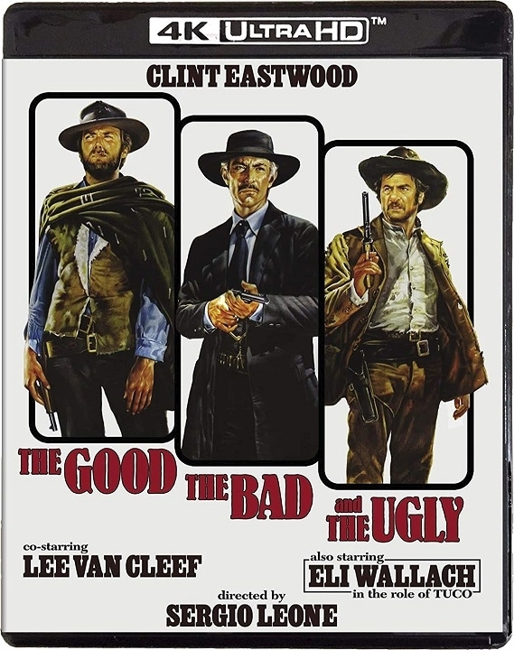 The Good, the Bad and the Ugly in 4K Ultra HD Blu-ray at HD MOVIE SOURCE