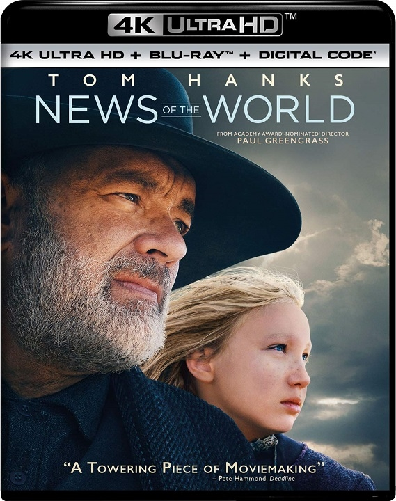 News of the World in 4K Ultra HD Blu-ray at HD MOVIE SOURCE