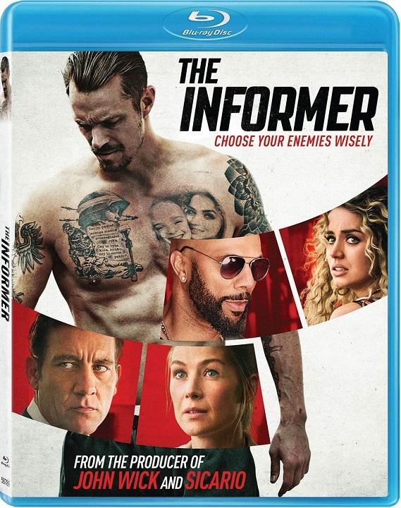 The Informer Blu-ray