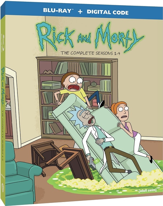 Rick and Morty: Seasons 1-4 Blu-ray