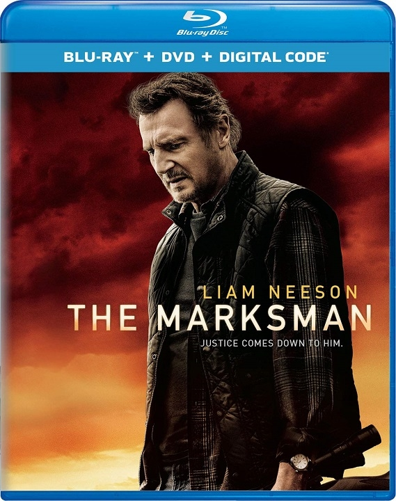The Marksman Blu-ray