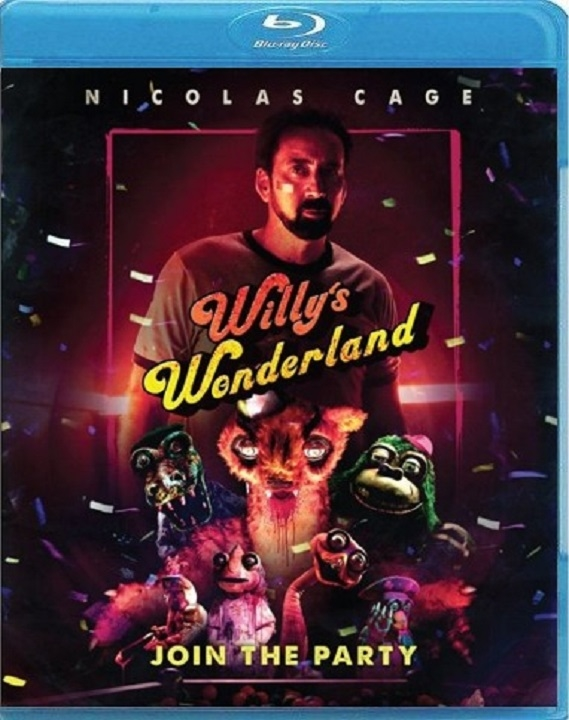 Willy's Wonderland (Blu-ray)(Region A)(Pre-order / Apr 13)