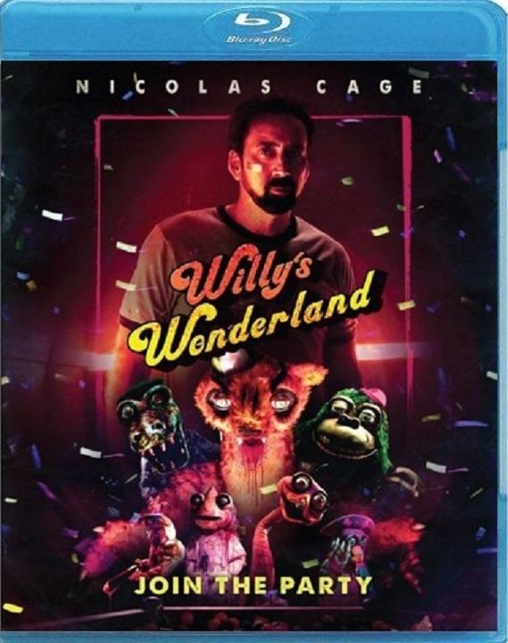 Willy's Wonderland (Blu-ray)(Region A)(Pre-order / Apr 13)