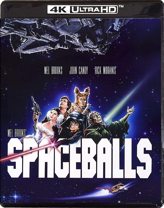 Spaceballs in 4K Ultra HD Blu-ray at HD MOVIE SOURCE