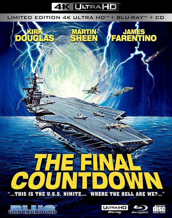 The Final Countdown in 4K Ultra HD Blu-ray at HD MOVIE SOURCE