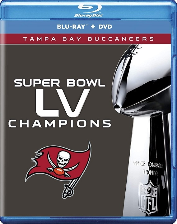 Super Bowl LV Champions Blu-ray