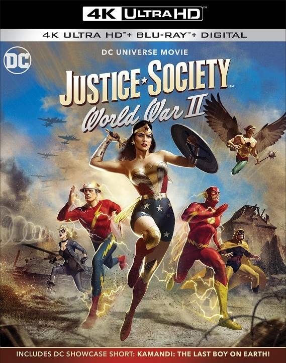 Justice Society: World War II in 4K Ultra HD Blu-ray at HD MOVIE SOURCE