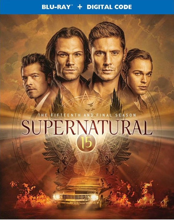 Supernatural The Complete Fifteenth and Final Season Blu-ray