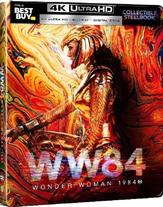 Wonder Woman 1984 SteelBook in 4K Ultra HD Blu-ray at HD MOVIE SOURCE