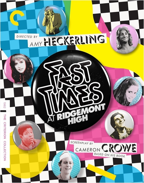 Fast Times at Ridgemont High (The Criterion Collection)(Blu-ray)(Region A)(Pre-order / May 11)