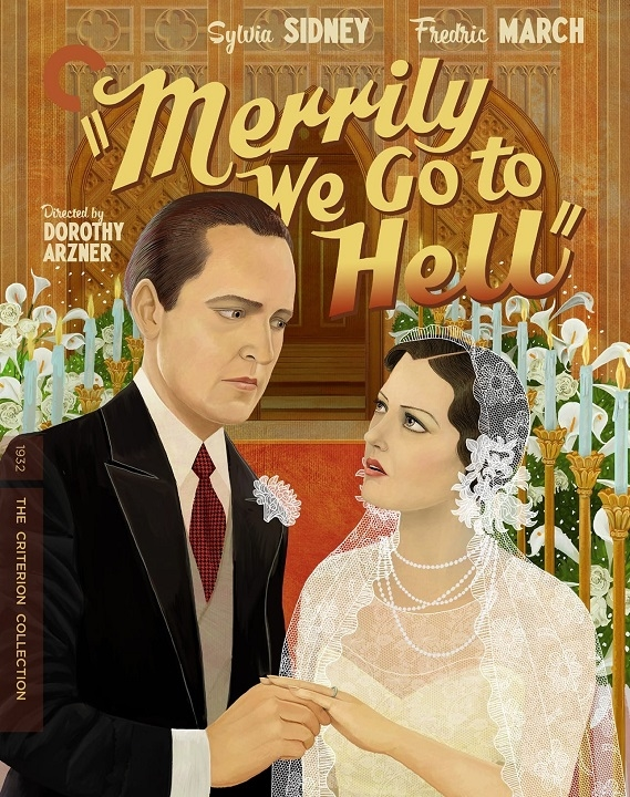 Merrily We Go to Hell (The Criterion Collection)(Blu-ray)(Region A)(Pre-order / May 11)