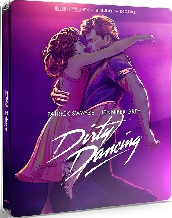 Dirty Dancing SteelBook in 4K Ultra HD Blu-ray at HD MOVIE SOURCE