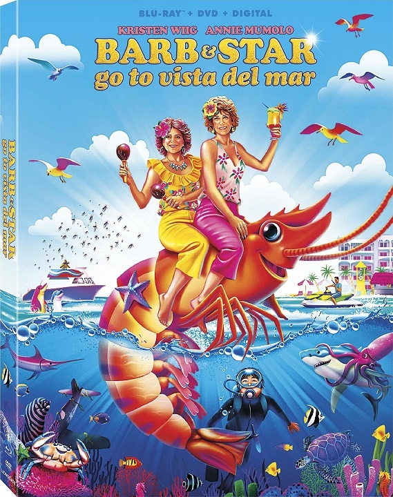 Barb and Star Go to Vista Del Mar Blu-ray