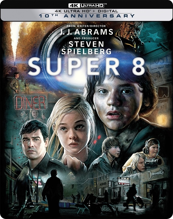 Super 8 SteelBook in 4K Ultra HD Blu-ray at HD MOVIE SOURCE