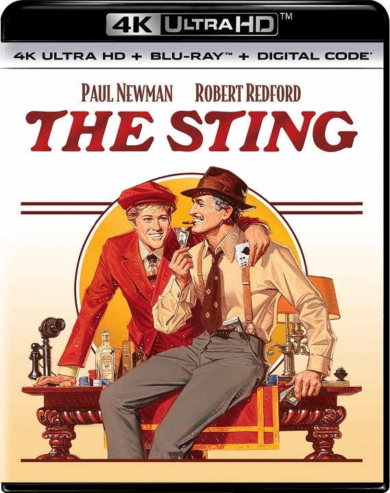 The Sting in 4K Ultra HD Blu-ray at HD MOVIE SOURCE