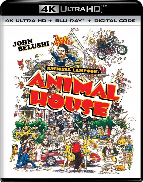 Animal House in 4K Ultra HD Blu-ray at HD MOVIE SOURCE