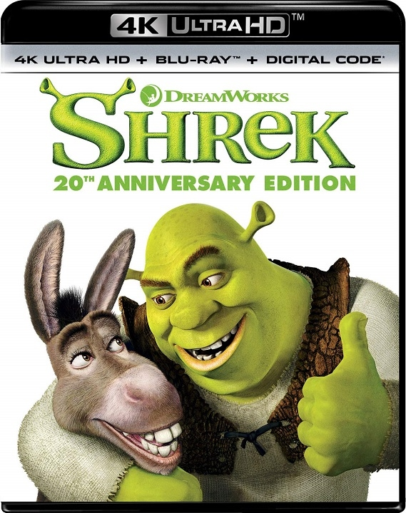 Shrek in 4K Ultra HD Blu-ray at HD MOVIE SOURCE