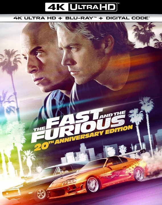 The Fast and the Furious in 4K Ultra HD Blu-ray at HD MOVIE SOURCE
