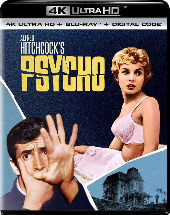 Psycho in 4K Ultra HD Blu-ray at HD MOVIE SOURCE