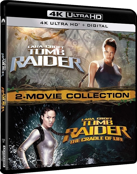 Lara Croft: Tomb Raider 2 Movie Collection in 4K Ultra HD Blu-ray at HD MOVIE SOURCE