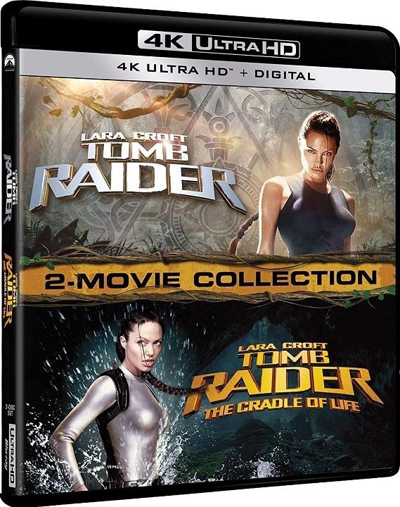 Lara Croft: Tomb Raider 2 Movie Collection in 4K Ultra HD Blu-ray at HD MOVIE SOURCE