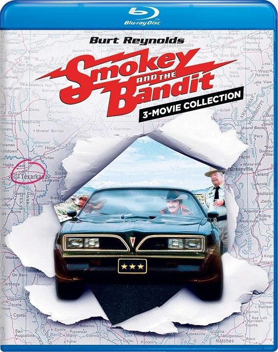 Smokey and the Bandit 3-Movie Collection Blu-ray