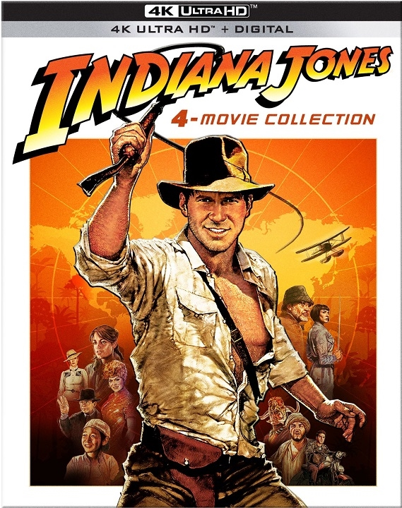Indiana Jones: 4 Movie Collection in 4K Ultra HD Blu-ray at HD MOVIE SOURCE