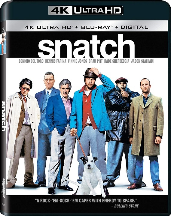 Snatch in 4K Ultra HD Blu-ray at HD MOVIE SOURCE