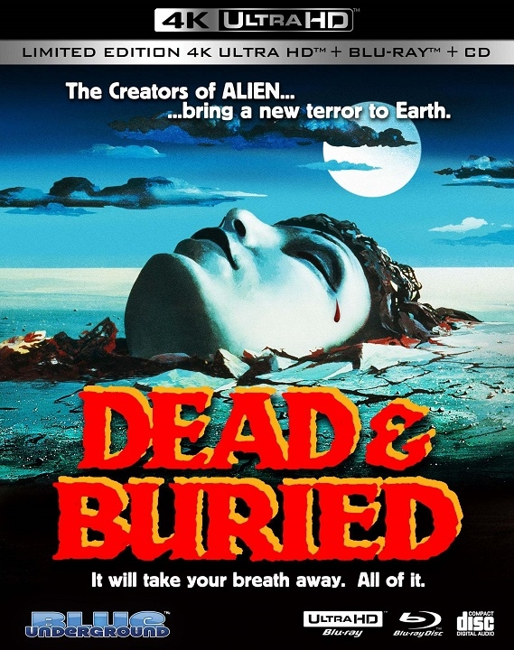 Dead & Buried Cover A in 4K Ultra HD Blu-ray at HD MOVIE SOURCE