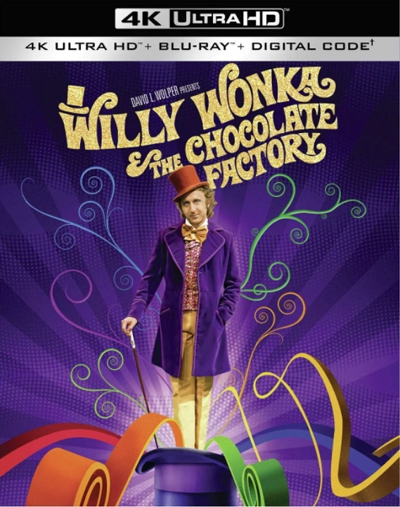 Willy Wonka & the Chocolate Factory in 4K Ultra HD Blu-ray at HD MOVIE SOURCE