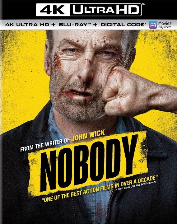 Nobody in 4K Ultra HD Blu-ray at HD MOVIE SOURCE