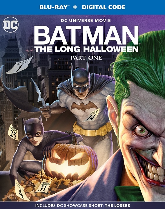 Batman: The Long Halloween, Part One Blu-ray