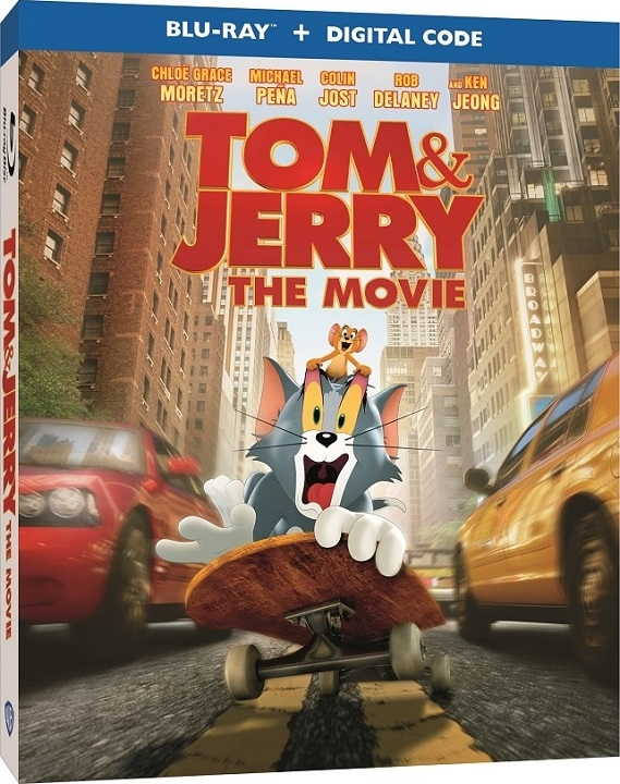 Tom & Jerry The Movie Blu-ray