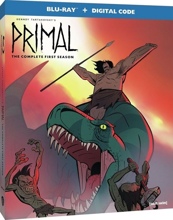 Primal: The Complete First Season Blu-ray