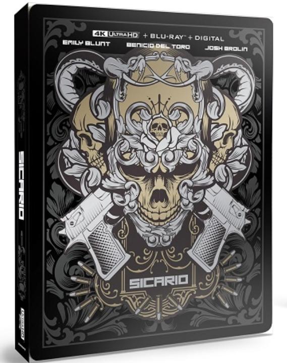 Sicario SteelBook in 4K Ultra HD Blu-ray at HD MOVIE SOURCE