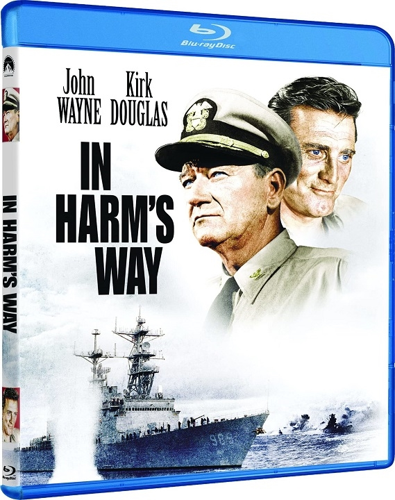 In Harm's Way Blu-ray