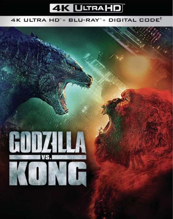 Godzilla vs. Kong in 4K Ultra HD Blu-ray at HD MOVIE SOURCE