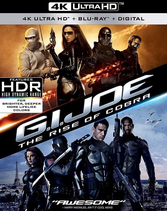 G.I. Joe: The Rise of Cobra in 4K Ultra HD Blu-ray at HD MOVIE SOURCE