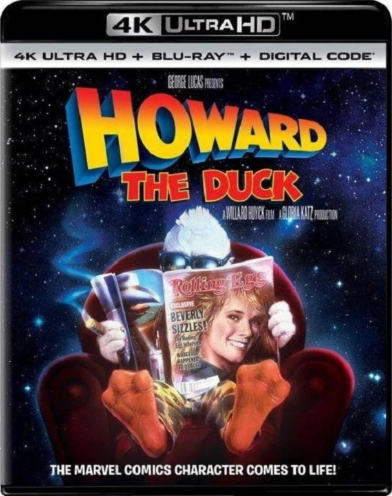 Howard the Duck in 4K Ultra HD Blu-ray at HD MOVIE SOURCE