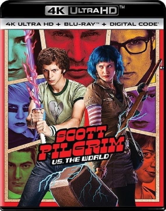 Scott Pilgrim vs. the World in 4K Ultra HD Blu-ray at HD MOVIE SOURCE