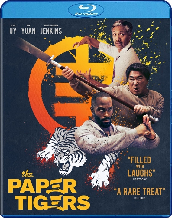 The Paper Tigers Blu-ray