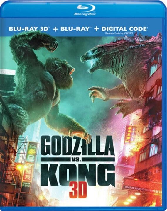 Godzilla vs. Kong 3D Blu-ray 3D