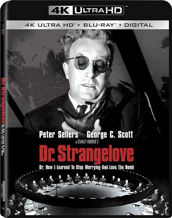 Dr. Strangelove in 4K Ultra HD Blu-ray at HD MOVIE SOURCE