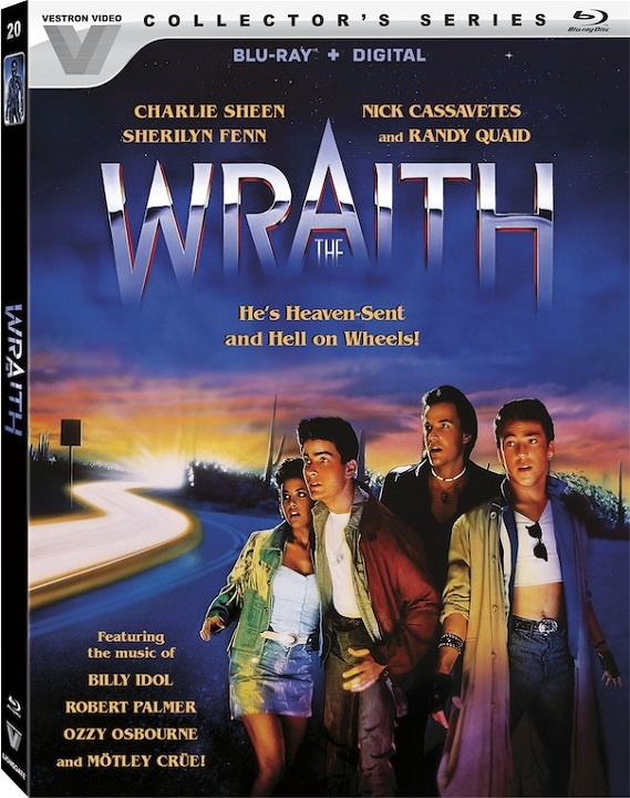 The Wraith (Vestron Collector's Series) Blu-ray