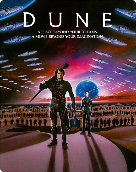 Dune (1984)(SteelBook) in 4K Ultra HD Blu-ray at HD MOVIE SOURCE