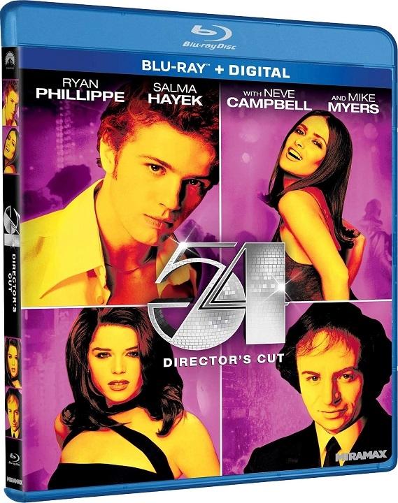 54: Director's Cut Blu-ray