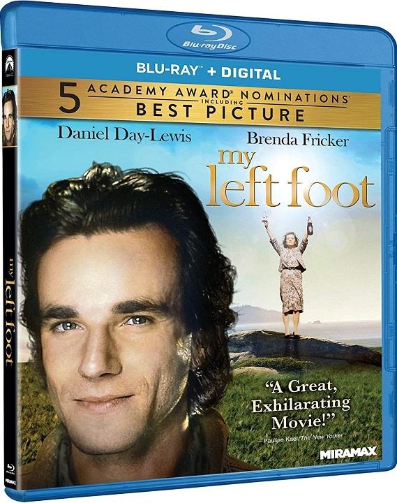 My Left Foot Blu-ray